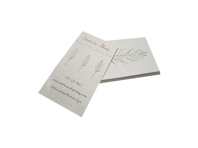 Επαγγελματικές Κάρτες σε Ειδικά Χαρτιά