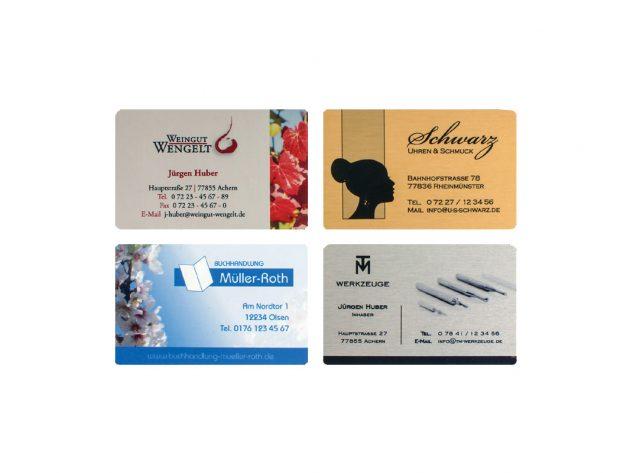 Επαγγελματικές Κάρτες Μεταλλικές