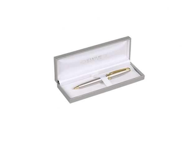 Στυλό Ασημί με χρυσό