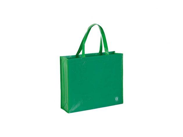 Τσάντα non-woven πράσινη