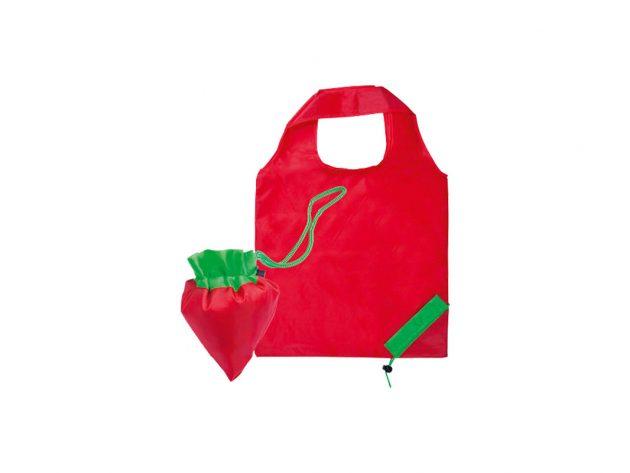 Τσάντα αναδιπλούμενη φράουλα
