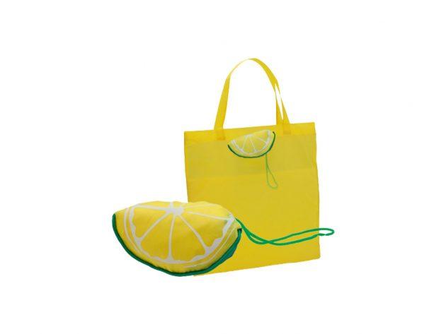 Τσάντα αναδιπλούμενη λεμόνι