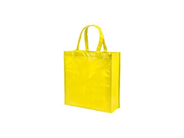Τσάντα φωσφοριζέ κίτρινη