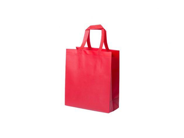 Τσάντα non woven κόκκινη