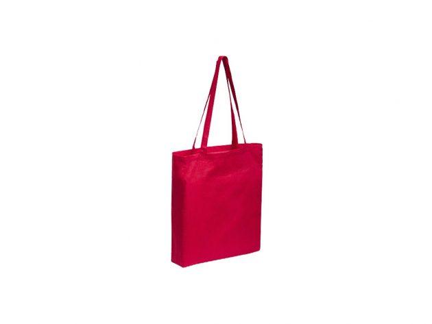 Τσάντα βαμβακερή κόκκινη