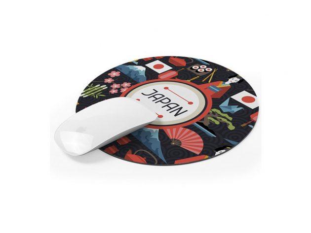 Mousepad στρογγυλό με έγχρωμη εκτύπωση