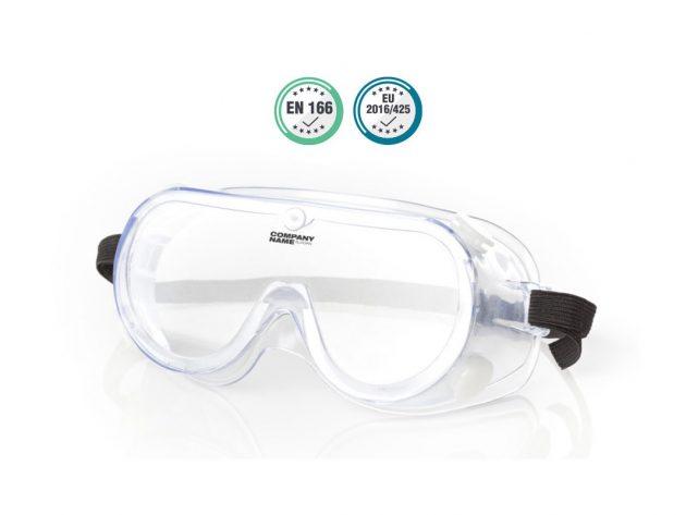 Διαφανή γυαλιά προστασίας