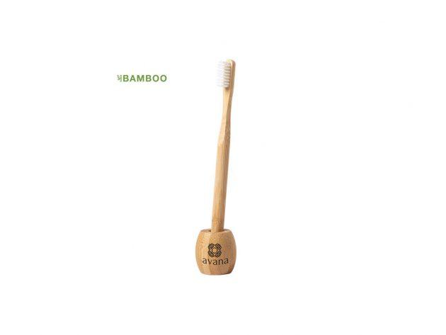 Οδοντόβουρτσα με βάση από μπαμπού