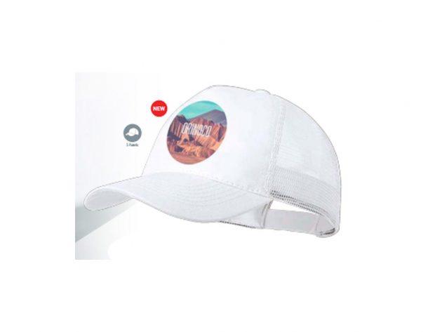 Καπέλο 5φυλλο με πλέγμα