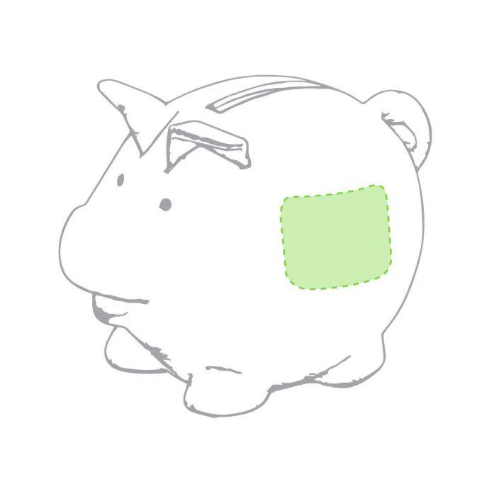 Κουμπαράς γουρουνάκι μπαμπού