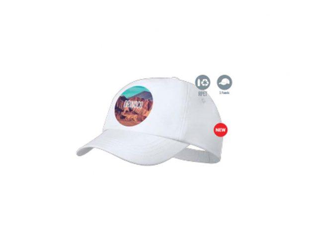 Καπέλο οικολογικό με έγχρωμη εκτύπωση