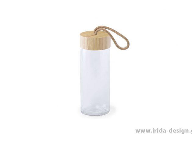 Μπουκάλι με Πώμα Μπαμπού