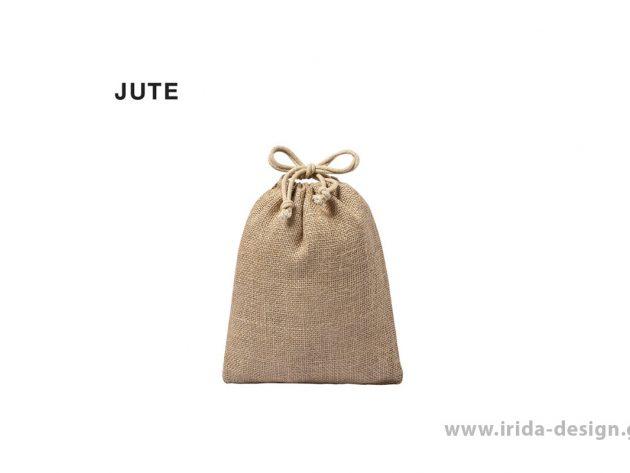 Τσάντα Πουγκί από Γιούτα