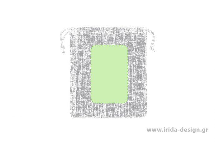 Πουγκί Τσάντα από Γιούτα