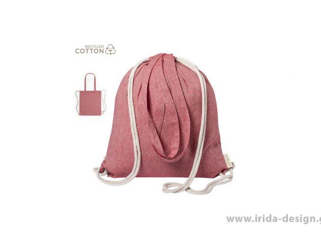Backpack Σακίδιο Πλάτης από Ανακυκλωμένο Βαμβάκι